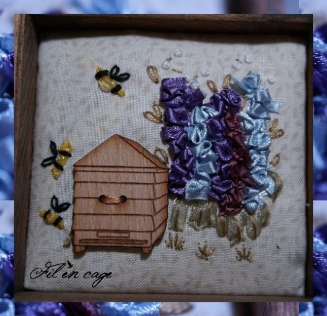 les abeilles casier