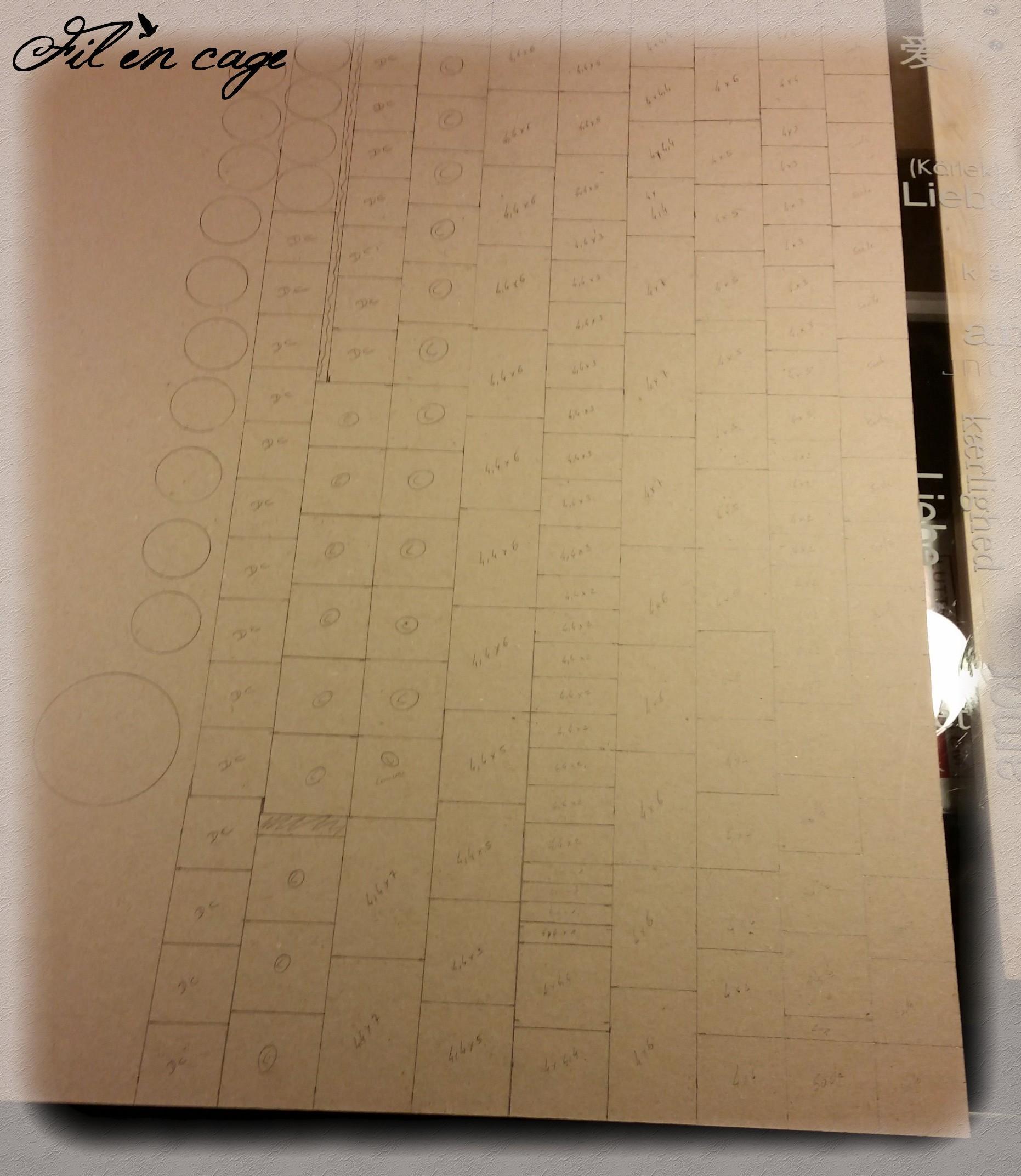 feuille de carton